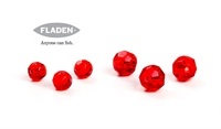 Fladen Fishing Red Glass Beads - perler