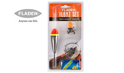 Fladen Fishing Flåd kit - Gedde/Pike - 12 gram