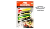 Fladen Ribbed Shads 120mm/12gram - Jigsortiment 03