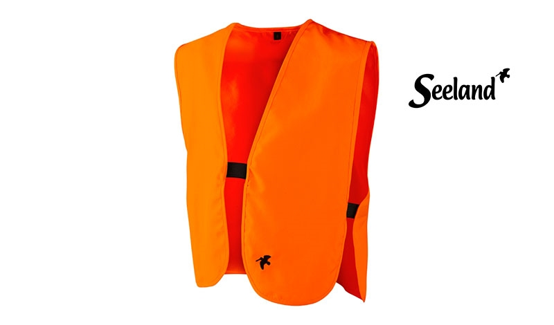 Seeland Sikkerhedsvest, Orange - Junior