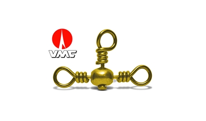 VMC Svivel - 3 vejs - Messing