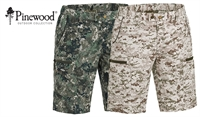 Pinewood Caribou TC shorts Camo